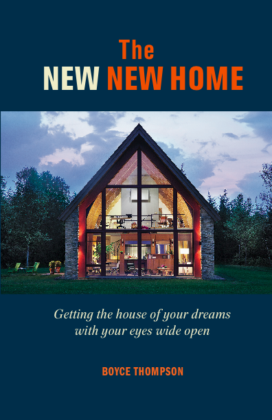 Cover of the New New Home by Boyce Thompson